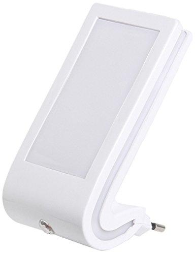 11 opinioni per Ranex RA-NIGHT02 Luce Notturna a LED, Interruttore Crepuscolare, Argento