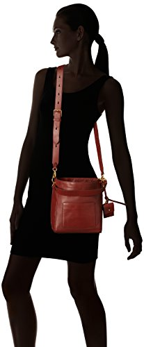 Brick Women's Bucket Fired Small Leather Haan Crossbody Cole Zoe Bag Iz6wx5v