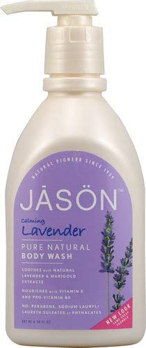 Jason Body Wash Pure Natural Calming Lavender -- 30 fl oz - 2pc