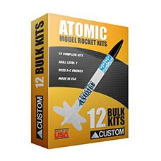 Custom Rockets Atomic Bulk Pack (12 pack) by Belleville Hobby (Image #4)