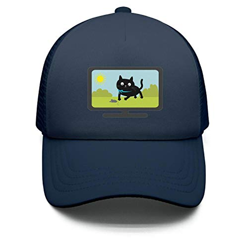 Big cat tv 2018 Snapback Hat 100% Cotton Breathable Adjustable Mesh Cap Children's Unisex