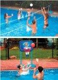 Swimline Cool Jam Pool Volleyball & Basketball Combo (Swimline Pool Jam)