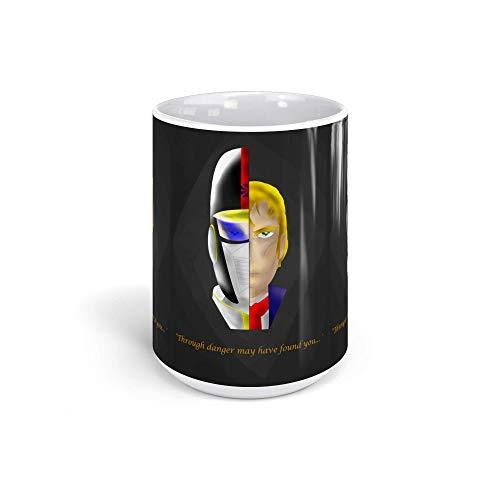 Ceramic Coffee Mug Japanese Comic Cup A Sheriff Inspired Anime & Manga Graphic Novels Drinkware Super White Mugs Family Gift Cups 15oz 443ml