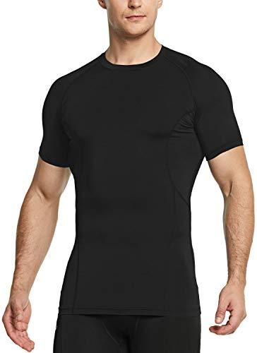 TSLA Men's UPF 50+ Quick Dry Short Sleeve