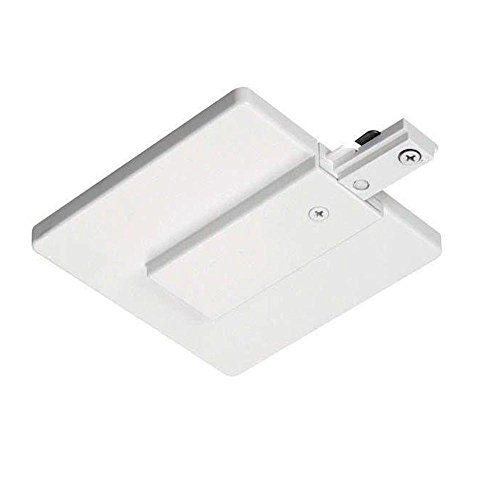 Juno Lighting R21WH End Feed Connector and Outlet Box Cover, -