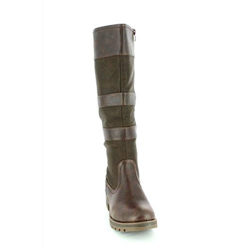 Heavenly Feet, Damen Stiefel & Stiefeletten Schokolade
