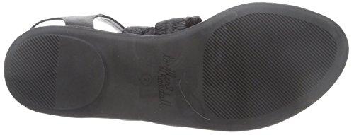 sandale lanières femmes pour à noir Loeffler Randall anneau 4tqx85vpw