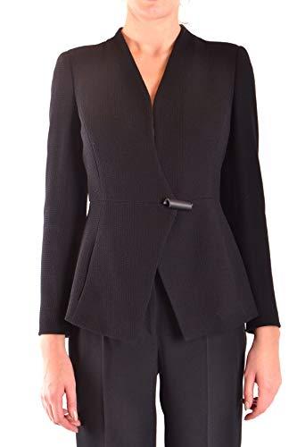 armani-collezioni-luxury-fashion-womens-mcbi36366-black-blazer-season-outlet