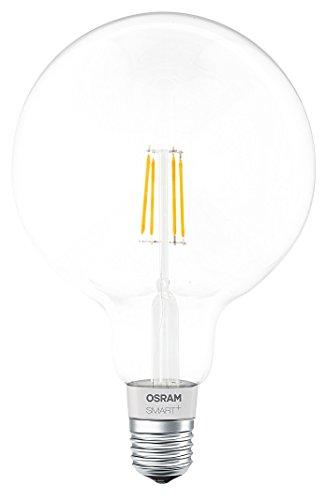 Osram Smart Bombilla Led Globo Filamento Regulable E27, 5.5 W, Blanco: Amazon.es: Iluminación