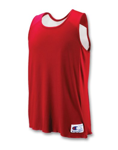 Champion Double Dry Sleeveless (Champion Men`s Double Dry Reversible Jersey,BR01-V,Youth)