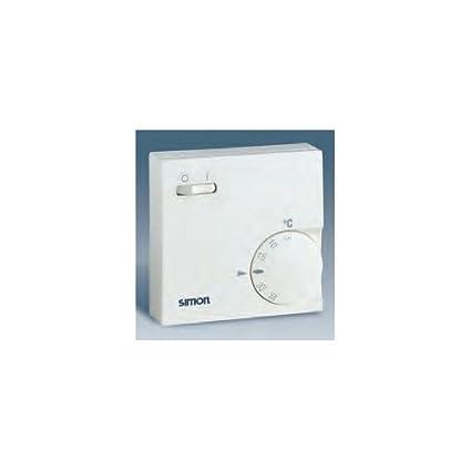 Simon 75500-68 - Termostato Para Calefaccion