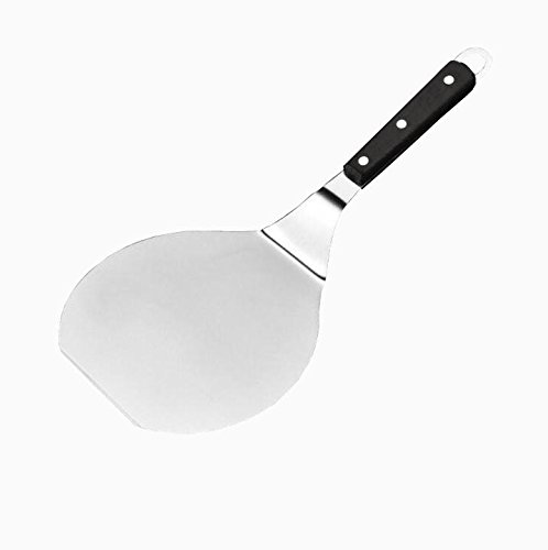 C&L Cake Pizza Peel Stainless Steel Lifter Transfer Pencake Bakery Spatula Server Tool for 6'' Pizza by C&L