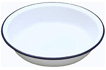 falcon enamel 22cm round pie dish by falcon: amazon.de: küche ... - Falcon Küche