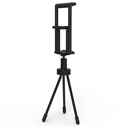 Inateck Lightweight Tablet/Smartphone Tripod Holder and Camera Stand for 5-10 inch Tablets and Universal Cellphones like iPad Pro
