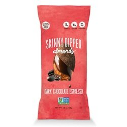 Skinny Dipped Almonds, Espresso Mini, 0.46 Ounce by Wild Things