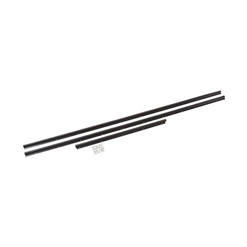MD Building Products Inc 22411195 Compression Weather Stripping With Aluminum Stop, 36'' X 84'', Bronze