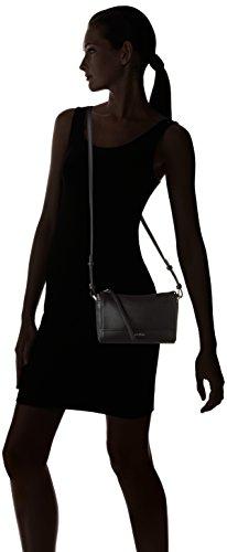 Calvin Klein MARIN4 Crossbody Clutch, Sacchetto Donna, Nero (Black), 5x15x23 cm (b x h x t)