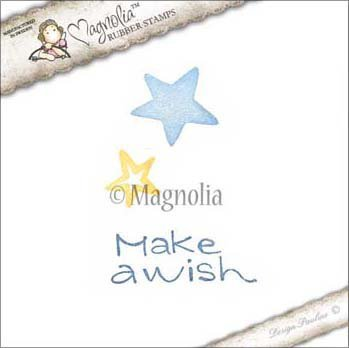 Magnolia Little Sunshine Make A Wish Cling Stamp Package, 5.5 x 2.5 by Magnolia