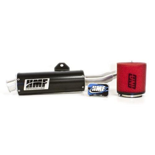 HMF Honda TRX 400EX 1999 - 2014 Black Slip On Exhaust Muffler & Jet Kit + - 400ex Honda System Full