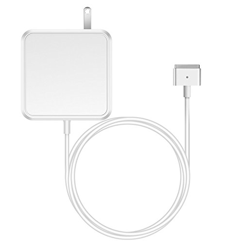 (Mac Book Pro Charger, RAYI AC Power T-Tip 85W Magsafe 2 Connector Magnetic Adapter Charger Compatible with Replacement for Mac Book Pro 13 Inch 15 Inch and 17 Inch Retina Display (85T))