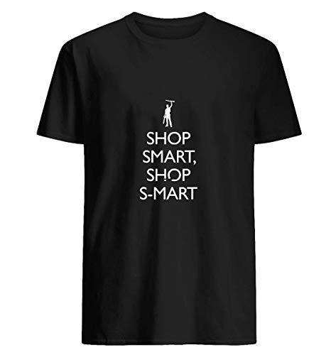 Shop Smart Shop S-Mart 49 Cotton short sleeve T shirt, Hoodie for Men Women Unisex