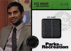 [Parks and Recreation Costume Card R-AA Aziz Ansari as Tom Haverford #01 of 99] (Aziz Ansari Costume)