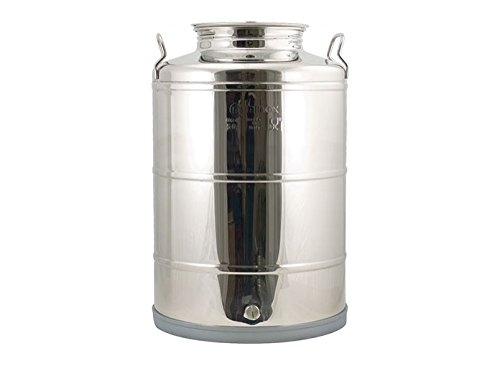 Stainless Fusti Tank - 14 Gallon Eurowelded