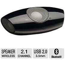 AudioSource MS200B Small 2.1 Bluetooth Mobile Speaker (Black)