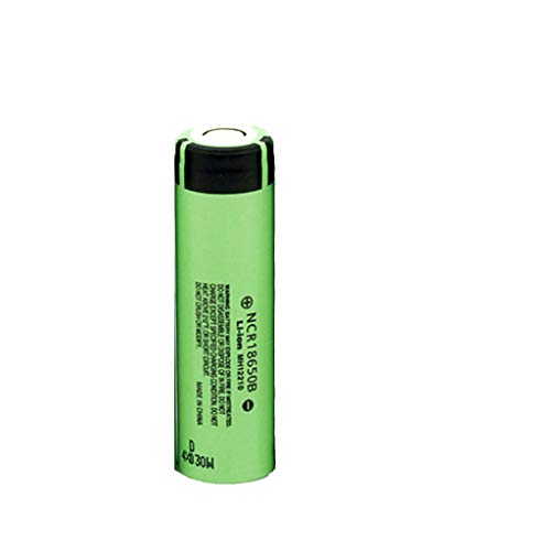 Ranoff Battery Pack 18650 3.7V 3400mAh Li-ion Rechargeable 4PCS Battery Batteries + 1PCS Wired Charger (Green)