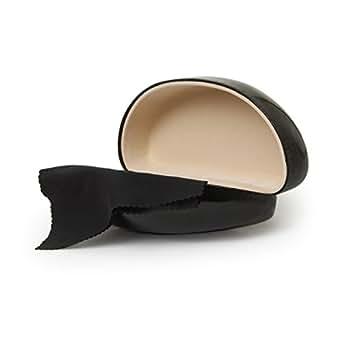 Black Glossy Finish Hard Sunglasses Case at Amazon Women's