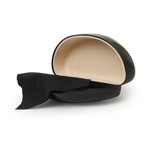 Black Glossy Finish Hard Sunglasses Case ()