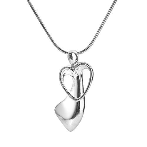 Sterling Silver Pendant Loving Family (Loving Family Sterling Silver Mother's Loving Embrace Birthstone Charm Pendant)