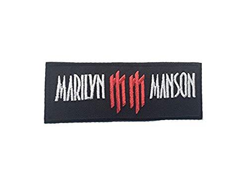 Marilyn Manson DIY Metal Rock Punk Emo Retro