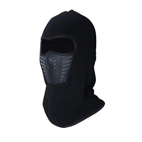 SOURBAN Hooded Face Mask Neck Warmer Windproof Fleece Hood Hat For Sports