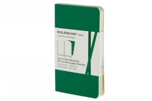 Moleskine Volant Notebook (Set of 2), Extra Small, Plain, Emerald Green, Oxide Green, Soft Cover (2.5 x 4) by Brand: Moleskine (Image #4)