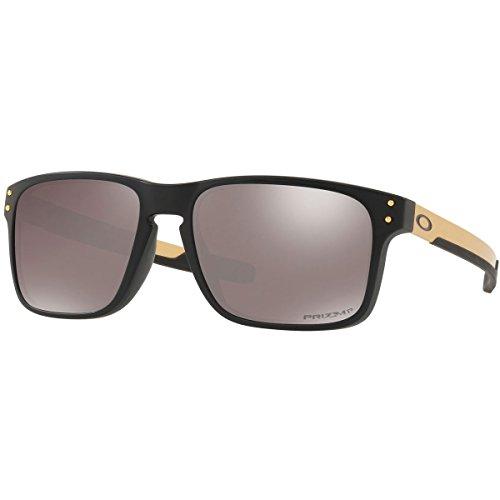 Oakley Men's Holbrook Mix Polarized Sunglasses,OS,Matte Black/Prizm - Oakley Matte Black Holbrook