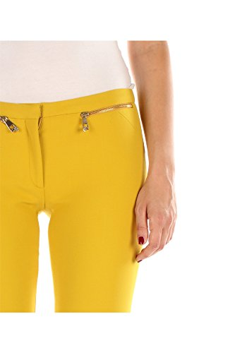 G34028G600556G1028 Versace Collection Pantalones Mujer Poliéster Amarillo Amarillo