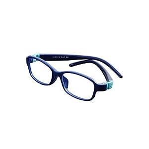 De Ding Kids Flexible Eyeglass Frames (dark blue)