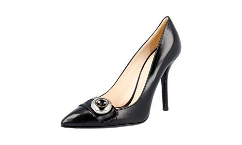 Pompes 1i497d cuir Chaussures femme Prada Cour en wqYatXXxE