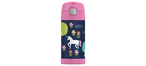 Thermos Funtainer 12 ounce Insulated Bottle , Unicorns