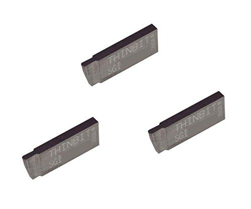 2000 Carbide Turning Insert - THINBIT 3 Pack SGI050D2FR 0.050