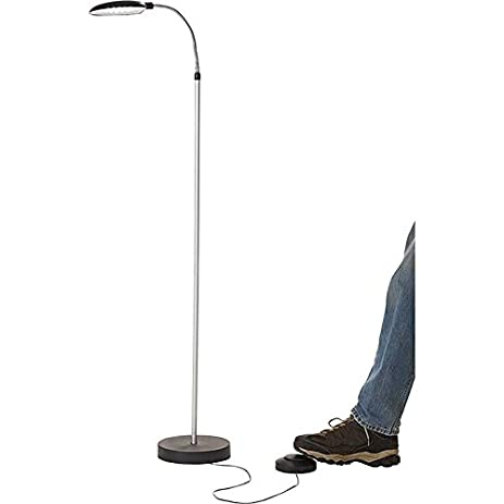 Battery operated led cordless anywhere floor lamp with foot battery operated led cordless anywhere floor lamp with foot control aloadofball Images