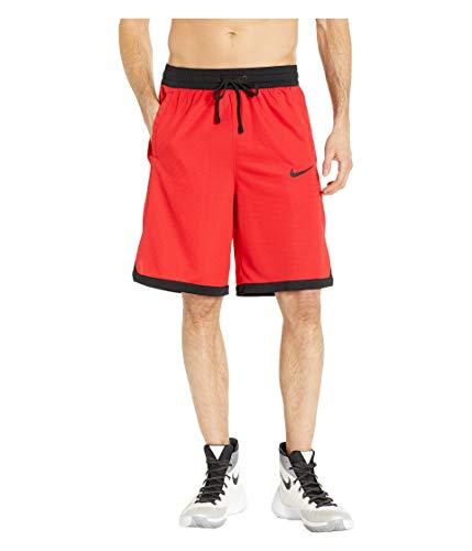 Nike Men's Dry Fit Elite Basketball Shorts University Red/Black Size Medium