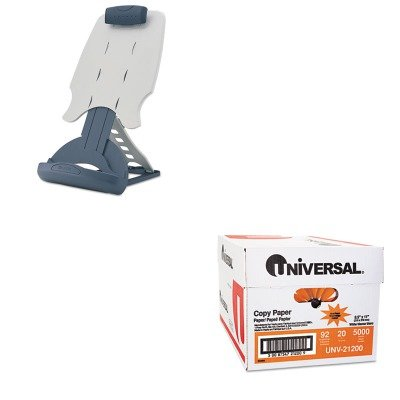KITKMW62058UNV21200 - Value Kit - Kensington InSight Adjustable Desktop Copyholder (KMW62058) and Universal Copy Paper -