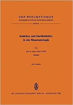 Descargar Con Torrents Infektion Und Herdinfektion In Der Rheumatologie Documento PDF