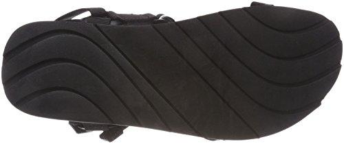 arrière Tech Barrel Pepe Bride Black Homme Jeans Sandales Noir 1qnT6XZH