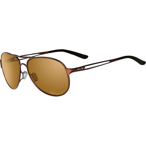 Oakley Caveat Women's Polarized Sunglasses - Brunette/Bronze/One Size]()