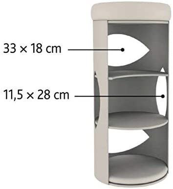 Amazon.com: Trixie Gracia - Torre para gatos (33.5 in ...