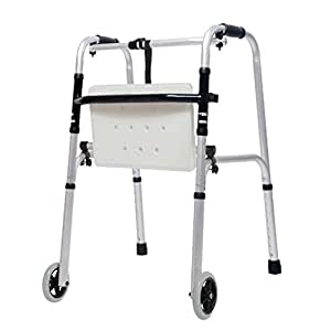 LHNLY-Andadores Andador Plegable bariátrico para Trabajo con ...