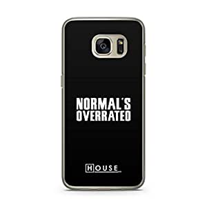 Samsung Galaxy S7 Transparent Edge Case House Normal Is Overrated